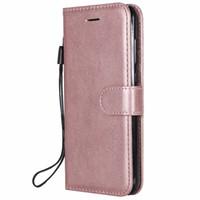 Huawei Honoy 10 Lite 플립 백 커버 순수한 컬러 PU 가죽 모바일 가방 코크 기본을위한 지갑 휴대 전화 케이스