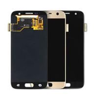 Per Samsung Galaxy S7 Display LCD con Touch Screen Digitizer Assembly Sostituzione schermo del telefono mobile Parti di riparazione per SM-G930A SM-G9300