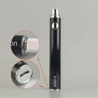 UGO-T UGO-V USB بطارية العبور السجائر الإلكترونية 650 مللي أمبير 900 مللي أمبير 1100 مللي أمبير ل ecigs protank CE4 CE5 MT3 الأنا المرذاذ البخاخة الدبابات vape الأقلام