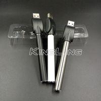 510 موضوع البطارية التلقائي سخن البطاريات USB شاحن بدون بطارية 350mah Vape القلم البطارية لزيت سميكة العرض حسب الطلب