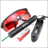 GS3 532nm قابل للتعديل التركيز الأخضر مؤشر الليزر القلم شاحن بطارية نظارات
