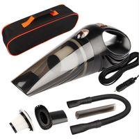 Aspirador de coche DC 12 voltios 120W con bolso 4.8 KPA ciclónico mojado / seco Auto Aspirador portátil polvo de limpiador