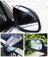 Car rearview mirror rain eyebrow Rainproof Blades Car Rain S...