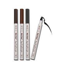 음악 꽃 액체 눈썹 펜 음악 꽃 눈썹 증강 인자 3 색 더블 헤드 눈썹 향상제 방수 DHL 무료 배송 3001111