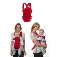 Multifuncional Front Facing Baby Carrier 3D Malha Infantil Confortável Estilingue Mochila Pouch Wrap Macio Do Bebê Crianças Canguru para 2-30 M