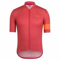 Radfahren Jersey Sommer Rapha Team Herren Atmungsaktiv Kurzarm Bike Shirts Straße Rennspitzen Fahrrad Outfits Outdoor Sport Uniform S21041301