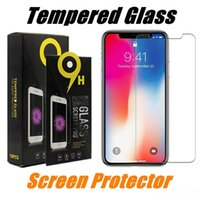 For iPhone X Tempered Glass Screen Protector iPhone 8 Plus 7...