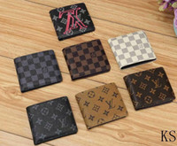 Trend new personality casual short wallet letter classic men...