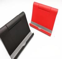 Universal-Schreibtisch-Telefon-Halter-Stand-flexibler faltender Handy-Halter für iPhone für Samsung für MP5 intelligenten Telefon-Stand mit Kleinpaket