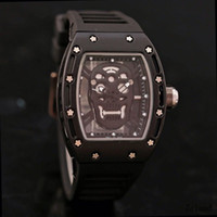 2018 New Hot Casual Fashion Skeleton Watches men Luxury bran...