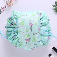 20 Designs Lazy Cosmetic Bag Professional Drawstring Makeup ...