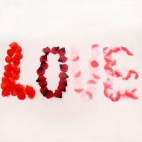 100 pçs / lote Acessórios Do Casamento Artificial Pétalas de Flores Pétalas de Rosa de Casamento E Festa de Aniversário Decoração 10 Cores Para Escolher