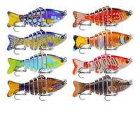New Arrival 8pcs Lot ABS Plastic Hard Fishing Painted Lures ...
