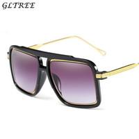 689c97d5e8f20 Nuevas gafas de sol Hombre Mujer 2018 Diseño de Marca Retro Gafas de sol de  gran