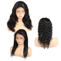 Straight Lace Front Wig Body Wave Lace Front Human Hair Wigs...