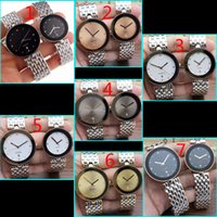 New Elegant classic RD couples watches quartz movement stain...