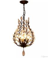 4 Işıklar Avize Ortam Işığı - Kristal Mini Stil, Rustik / Konaklama Vintage Fener Ülke Geleneksel / Klasik Retro Modern / Contempo