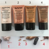 4 Colors NYX Born To Glow Highlighter Makeup Foundation Liqu...