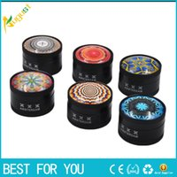 Novely 3D in lega di zinco herb Grinder Dia 50mm Herb Grinders Amsterdam Exquisite Appearance Abraders 3 strati Herb Spice Grinder