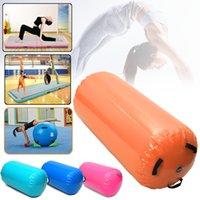 شحن مجاني مجموعة (6 قطع) من مصغرة نفخ الهواء المسار رياضة تعثر الهواء المسار حصيرة ل رياضة الجمباز مع مضخة الهواء