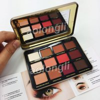 New Makeup FACED Just Peachy Mattes Eyeshadow 12 Colors Eye ...