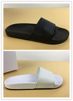 Wholesale black white slippers Soft Sandals outdoor trainers...