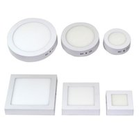 12pcs Surface Mounted LED Ceiling Panel Light Round Square W...