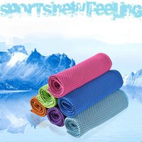 Cool Towel Sports Towels Ice Cold Exercise Washcloth Summer ...