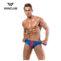 WinClub Classic Hommes Coton Sous-Vêtements Hommes Slips Sexy Gay Hommes Slips Respirant Push Up Culotte