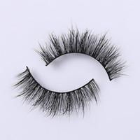 Real Siberian Lash wholesale Flat False Eyelashes Natural Long Individual Eyelash Beauty Mink Eyelashes Natural Soft Hand Made lashes