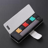 Tragbares 1200mAh-Ladegerät Lade Case Pods Halter LCD-Ladeanzeige für JUUL Universal-Ladegerät