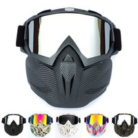 Outdoor Motorcycle Safety Eyewear Goggle Cycling Full Mask G...