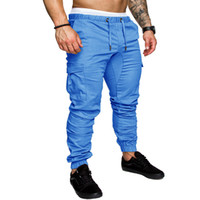 Brand Pants Man Cotton Jogger Trousers Men 2018 Hip Hop Stre...