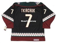 Maillot Hommes KEITH TKACHUK Phoenix Coyotes 1998 Maillot Retro CCM Vintage pas cher
