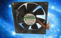 기존 SUNON 90 * 90 * 25 KDE1209PTV3 DC12V 1.2W 3 라인 자기 부상 공중 모터 냉각 팬