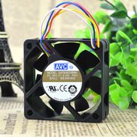 Para novo original autêntica AVC DATA0625B8H 48V 0,16A quatro fios 6 cm ventilador