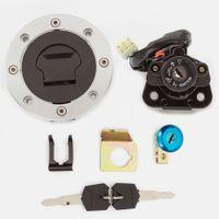 오토바이 점화 스위치 연료 가스 캡 시트 잠금 키 설정에 대한 스즈키 하야부사 GSX1300R 1999-2015