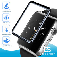 For Apple Iwatch Series 4 40mm 44mm 3D Full Curved Tempered ...