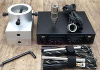 DIY الصنوبري الصحافة لوحات 3X5 بوصة المزدوج PID تحكم كهربائي مسمار مسمار E-مع سخان قضبان 2 التدفئة لفائف التيتانيوم الأظافر اللمسة تزوير