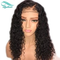 Bythair Deep Curly 13x6 Deep Part Lace Front Wig Pre Plucked...