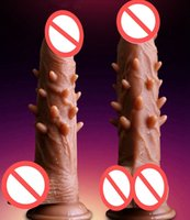Silicone Super Realistic Dildo Real Skin Touch Dildo With Th...