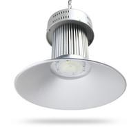두꺼운 알루미늄 100W 120W 150W 200W LED 높은 베이 빛 투광 조명 창고 전시회 조명 램프 방수 베이 빛 가스 빛 무료 배송