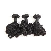 Brasilianisches Menschenhaar Funmi-Haar-Wasser-lose natürliche Farbe 99-100g / piece Rose Curl Funmi Hair