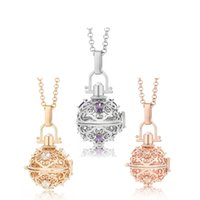 Angel Bola CZ Aroma Pendant Ball Maternity Gift For Baby Met...