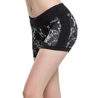 Vente chaude Femmes Sports Yoga Shorts D'été Imprimé Compression Collants Gym En Plein Air Running Fitness Shorts Minceur Pour Les Filles Dames