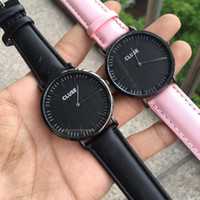 Dropshipping 40mm Japanese Quartz Waterproof Lady Leather St...