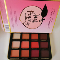 too faced makeup palettes Just Peachy Matte Eye Shadow Colle...