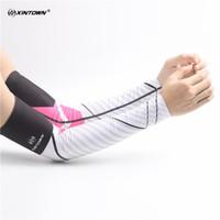 Ciclismo respirável dos homens de bicicleta braço aquecedores de proteção UV Mangas Manguito feminino's Running Camping Verão Sports Safety Leg Warmer