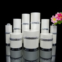 15g, 30g, 50g30ml, 50ml, 120ml White Acrylic Cream Jar Empty Cos...