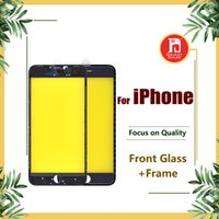 Front Touch Screen Panel Outer Glass Lens + Cold Glue Middle...